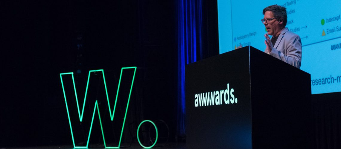 Talk: Great UX Research for Non-Researchers, user research consultant Steve Portigal at Awwwards San Francisco